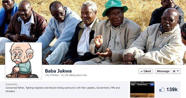 Baba Jukwa Facebook page cover