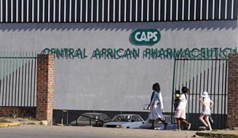 The Caps Holdings factory in Harare's Southerton industrial area that will soon go under the hammer to settle debts