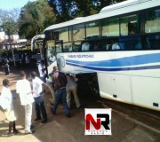 Harare Polytechnic bus off to Mozambique