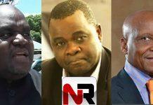 Martin Dinha, Edward Chindori Chininga (killed) and Emmanuel Fundira