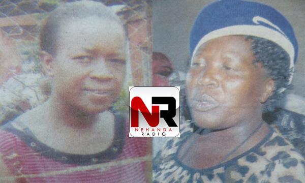Wadzanayi Mashonanyika and her aunt Mai Ngandu