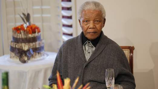 Mr Mandela on his 94th birthday