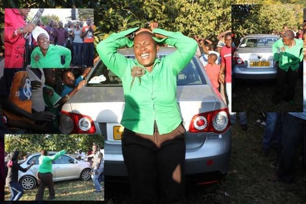 Prophet Uebert Angel Donates Another Car Nehanda Radio