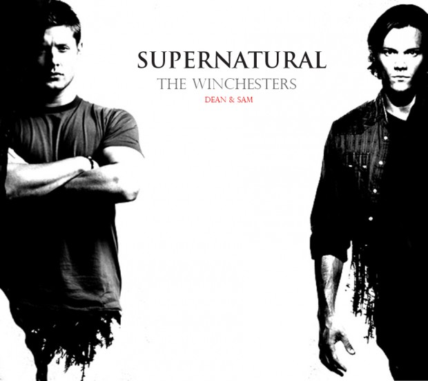 Supernatural sam and dean coloring pages