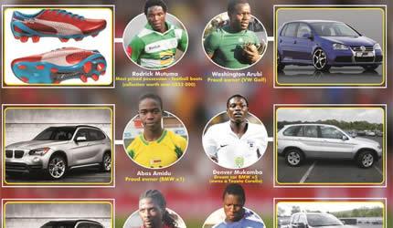 Zimbabwean Football Stars And Their Cars Nehanda Radio