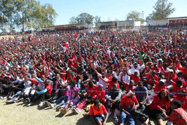 MDC-T Rally in Masvingo