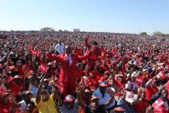 MDC-T rally being held at the White City Stadium in Bulawayo today. Prime Minister Morgan Tsvangirai is on the campaign trail trying to unseat 89 year old President Robert Mugabe who has been in power for 33 uninterrupted years. Full album: http://nehandaradio.com/2013/07/20/live-updates-mdc-t-bulawayo-rally/