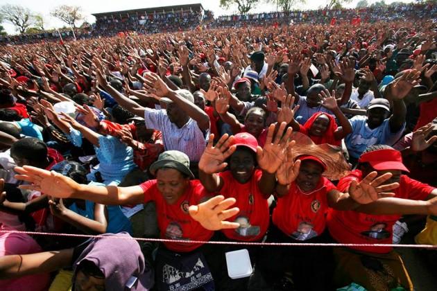 Tsvangirai Chitungwiza Rally
