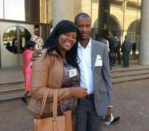 Tendai Wenyika and Mike Gava