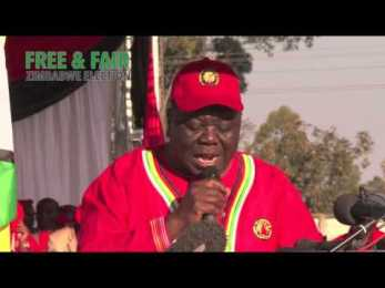 VIDEO: Tsvangirai Campaign Launch