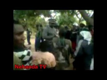 Video: Police rescue Minister Chombo from angry Zanu PF protestors