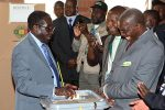 'Robbery' Mugabe voting on election day
