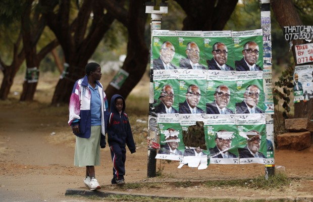 Masvingo man arrested for using Mugabe poster as toilet paper