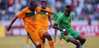 Zimbabwe vs Zambia in a Cosafa tie this year