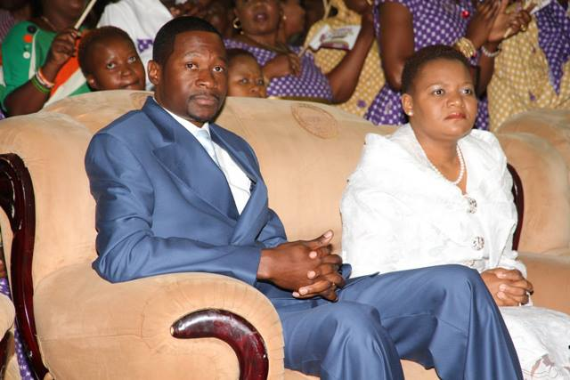Prophet Makandiwa and wife Ruth
