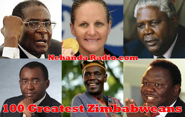 100 greatest Zimbabweans: Send us your Nominations
