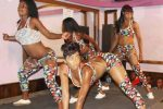 Raunchy dancer Beverly Sibanda on stage