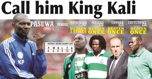 Pasuwa imposes himself on Harare Derby