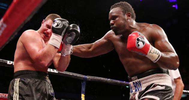 Dereck Chisora won the European heavyweight title after stopping Edmund Gerber in the fifth round at the Copper Box Arena.