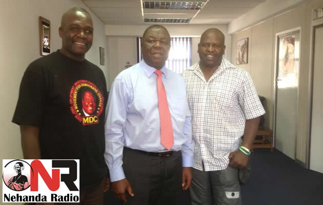 Eric Knight Morgan Tsvangirai and Ezra Sibanda