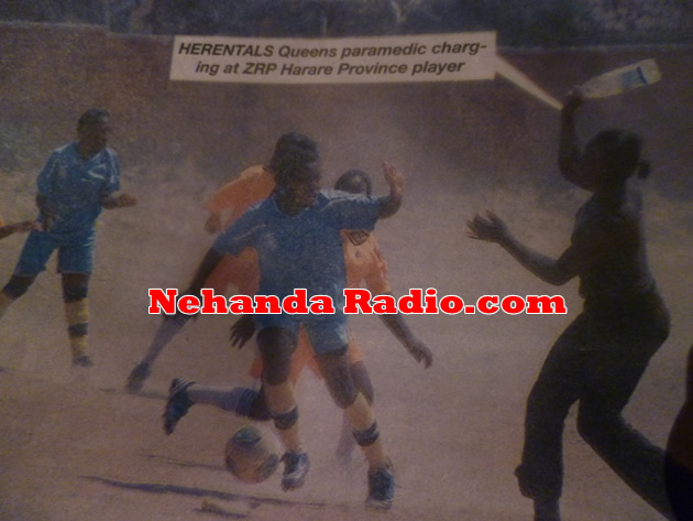 ZRP Harare Province vs Herentals Queens fight