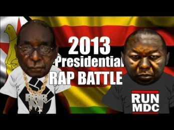 Mugabe Vs Tsvangirai PRESIDENTIAL RAP BATTLE