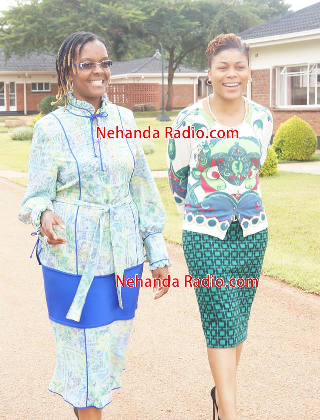 Beverly Angel Meets Grace Mugabe Nehanda Radio