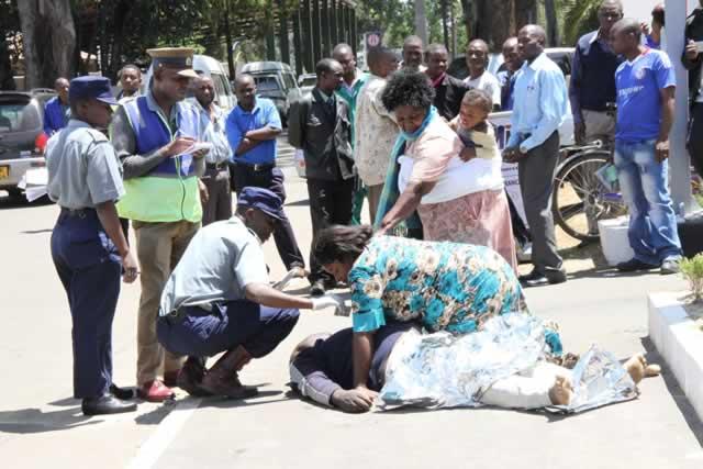Hmetro Zimbabwe Today Man Dies At Small House