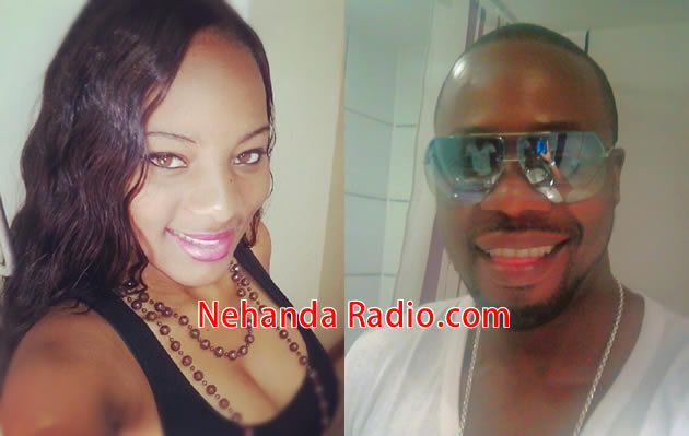 Stunning Couple: Melissa Moyo the reigning Miss Gweru and Desmond 'Stunner' Chideme