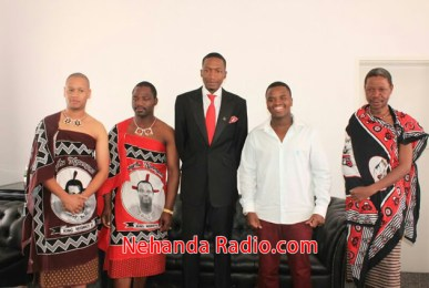 King Mswati's son visits Prophet Angel
