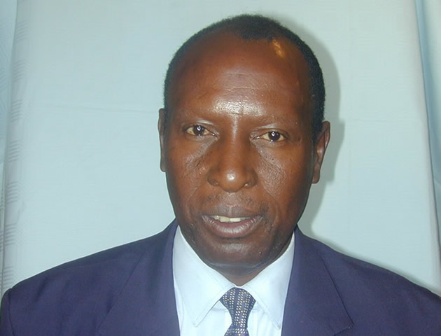 Deputy Finance Minister Samuel Undenge
