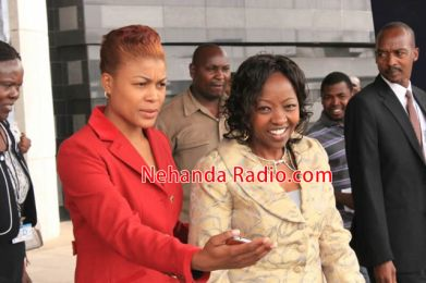 Wife of Kenyan VP visits Prophet Angel