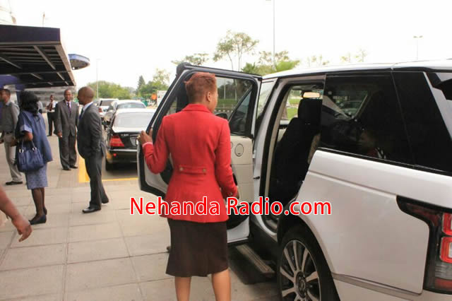 Wife Of Kenyan Vp Visits Prophet Angel Nehanda Radio