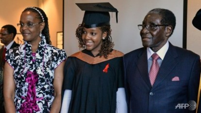 Bona Mugabe graduates in Singapore (Pictures)
