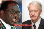 Robert Mugabe and Ian Smith