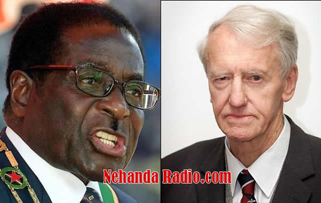 Robert Mugabe and Ian Smith