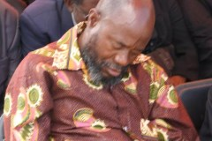 Buhera South MP Joseph Chinotimba takes a nap