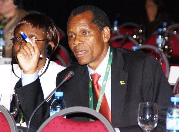 Empowerment minister Francis Nhema