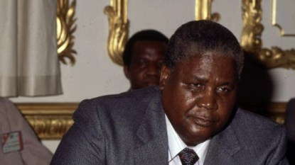 Joshua Nkomo letter to Robert Mugabe from exile in the UK