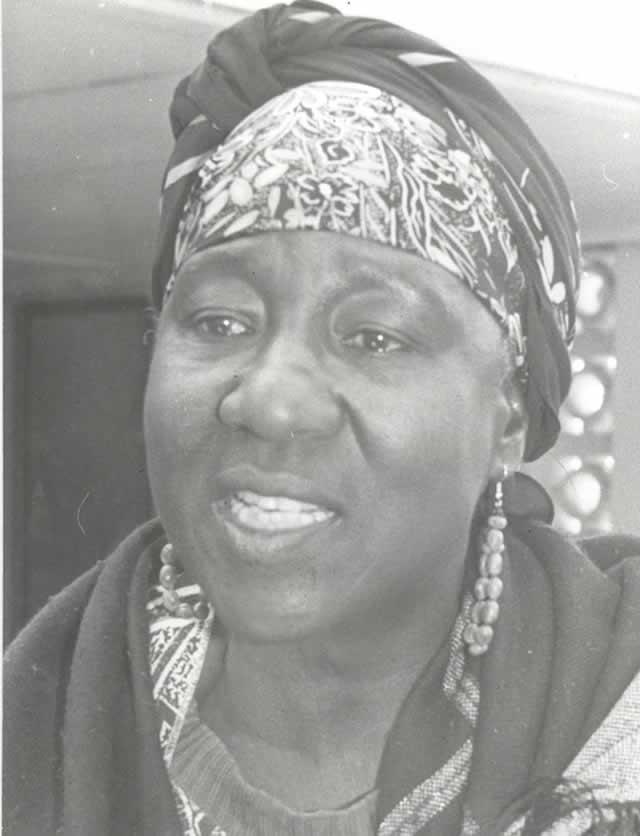 Bridget Zvenhamo Mugabe