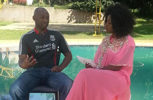 Makosi interviews former Zimbabwe Warriors captain Peter Ndlovu