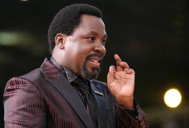 Nigerian-based prophet Temitope Balogun Joshua (TB Joshua)
