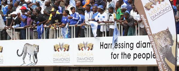 Mbada Diamonds a big sponsor of football in Zimbabwe