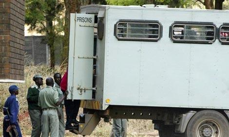 Zimbabwe Prison Service truck