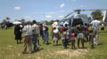 SA family charter private jet and two helicopters for Tsholotsho funeral