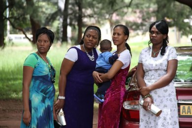 Gumbura's wives seek Mujuru's help