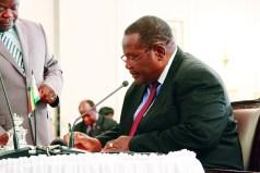 Transport Minister Obert Mpofu