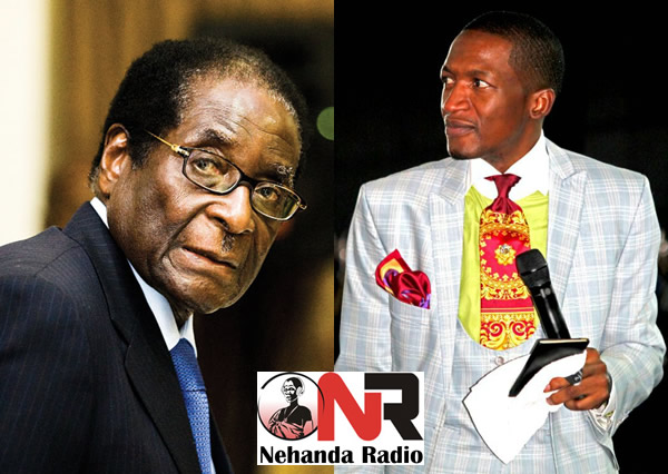 Robert Mugabe and Uebert Angel
