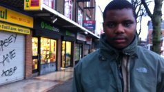 Stanley Phiri relies on charities for food and clothes