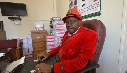 Biti claims foreigners voted in Zim election